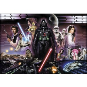 Fototapeta - STAR WARS Darth Vader Collage