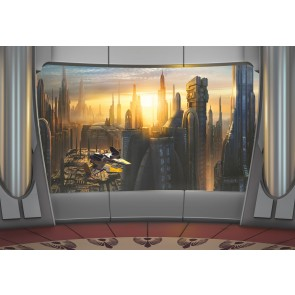 Fototapeta - STAR WARS Coruscant View