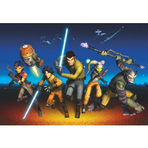 Fototapeta - STAR WARS Rebels Run