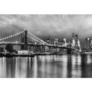 Fototapeta - Brooklyn B/W