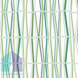 Kopalniška zavesa - Tekstil Bambu zelena