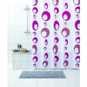 Kopalniška zavesa - Vinil Bolle roza