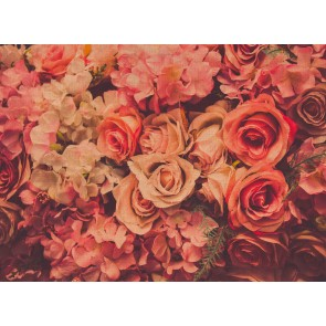 Foto tapeta - Flower Wall