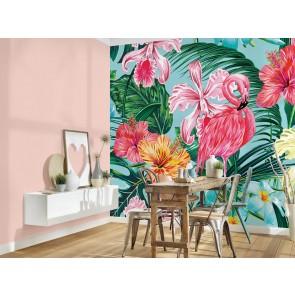 Foto tapeta - Flamingo Art 1
