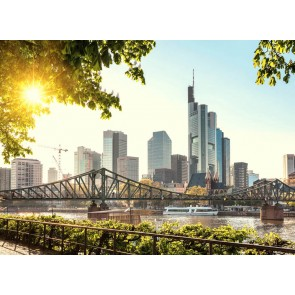 Foto tapeta - Frankfurt City