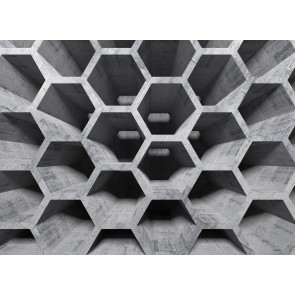 Foto tapeta - Honeycomb Structure 1