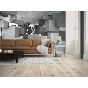 Foto tapeta - Concrete Tetris