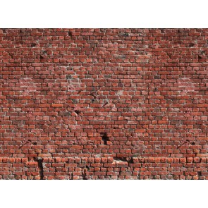 Foto tapeta - Brick Red
