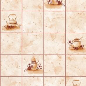 Samolepilna folija - Ploščice lonec bež
