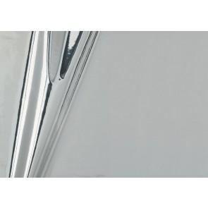 Samolepilna folija kos - Metalik srebrna sijaj
