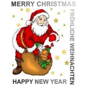Samolepilna nalepka Spirit - Vesel božič