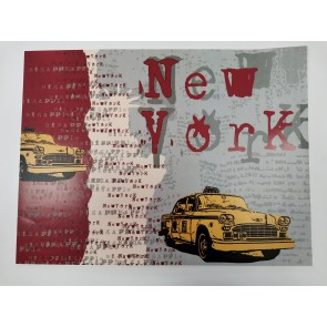 Samolepilna nalepka Spirit-Laptop - New York  30x40cm