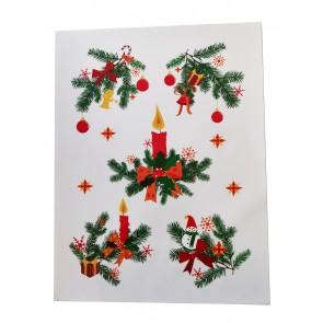Statična nalepka Spirit - Božič