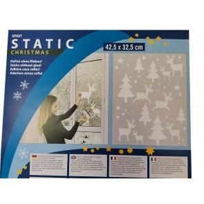 Statična nalepka Spirit 32,5x42,5cm - Rentier