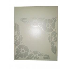 Dekor za steklene površine marjetice -