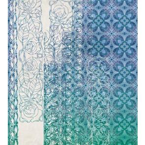 Fototapeta - Art Nouveau Bleu
