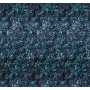 Fototapeta - Botanique Bleu