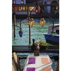 Namizni pogrinjek - Venito lila
