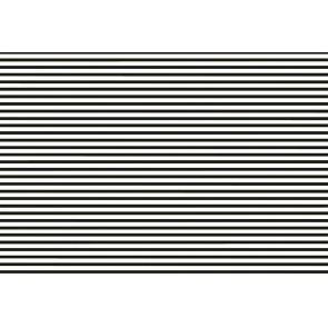 Namizni pogrinjek - Transparent črte črna