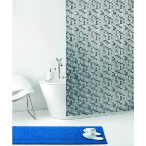 Kopalniška zavesa - Vinil Mosaico grigio