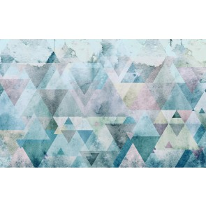 Fototapeta - Triangles Blue