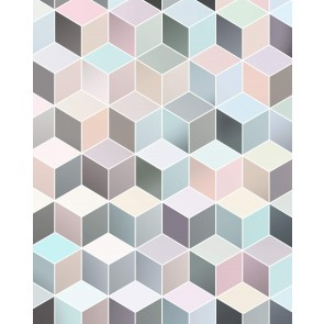 Fototapeta - Cubes Pastel