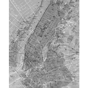 Fototapeta - NYC Map