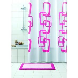 Kopalniška zavesa - Vinil Quadri roza