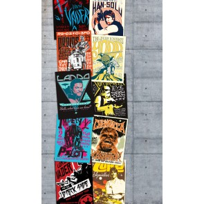 Fototapeta - Star Wars Rock On Wall