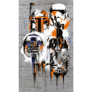 Fototapeta - Star Wars Celebrate The Galaxy