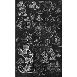 Fototapeta - Mickey - Chalkboard
