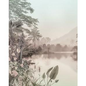 Fototapeta - Lac des Palmiers
