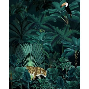 Fototapeta - Jungle Night