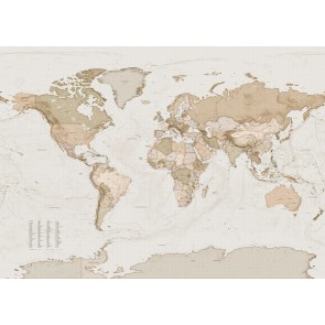 Fototapeta - Earth Map