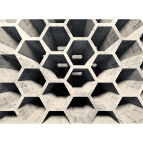 Foto tapeta - Honeycomb Structure 2