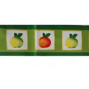Samolepilna bordura - Kitchen Apple