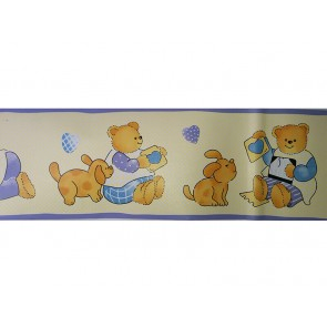 Samolepilna bordura - Kids Teddy
