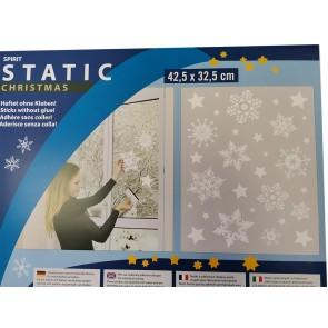 Statična nalepka Spirit 32,5x42,5cm - Sterne